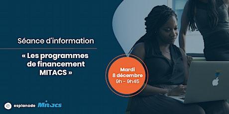 """Séance d'information """"Les programmes de financement MITACS"""" billets"""