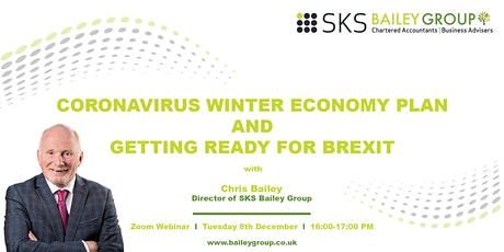 Coronavirus Winter Economy Plan and Getting Ready for Brexit tickets