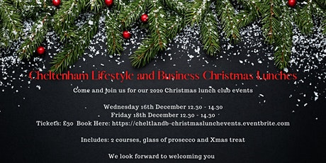 Cheltenham Lifestyle and Business Christmas Lunch tickets