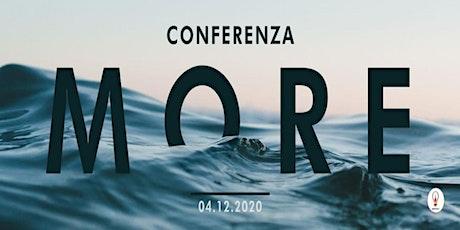Conferenza MORE biglietti