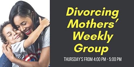 Divorcing Mothers Weekly Group tickets