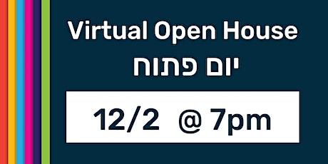 Harlem Hebrew Language Academy Virtual Open House tickets