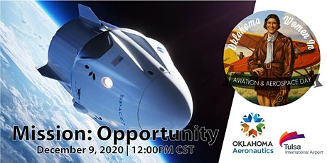 2020 Oklahoma Women in Aviation and Aerospace Day Virtual Forum tickets