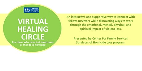 Healing Circle for Survivors of Homicide Loss tickets