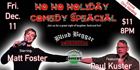 Ho Ho Holiday Comedy Special tickets