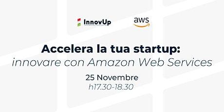 Da startup a corporate: innovare insieme ad Amazon biglietti