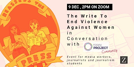 The Write To End Violence Against Women in Conversation with Rosey Project tickets