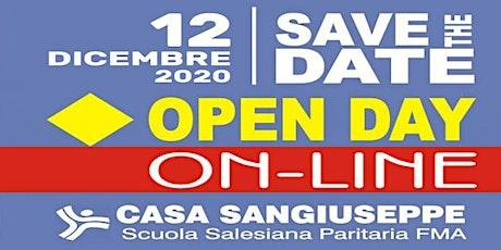 OPEN DAY ON-LINE - CASA SAN GIUSEPPE - Scuola dell'Infanzia biglietti
