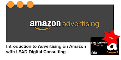 Introduction to Advertising on Amazon tickets