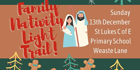 Family Nativity Light Trail tickets