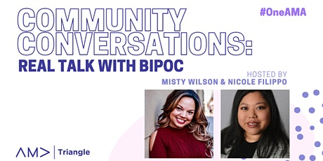 Community Conversations: Real Talk with BIPOC tickets