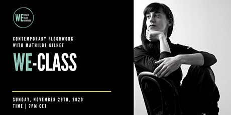 WE-CLASS   Floorwork with Mathilde Gilhet   7PM CET tickets