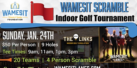 Wamesit Scramble Golf Tournament tickets