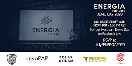 Energia Ventures Demo Day 2020 tickets