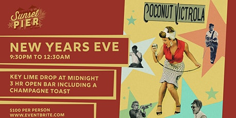 NYE Key Lime Drop with Coconut Victrola tickets