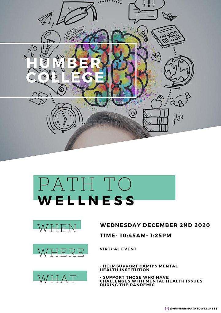 HUMBER PATH TO WELLNESS - (Virtual Event) image