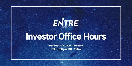 Investor Office Hours tickets