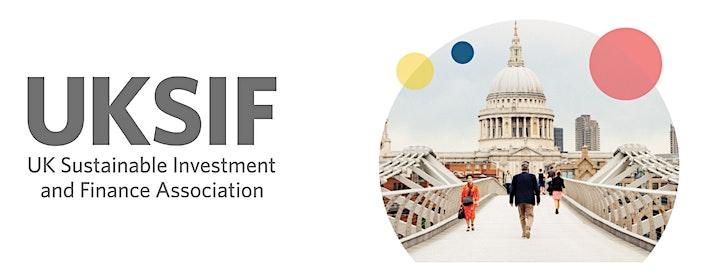 UKSIF London Conference 2020 image