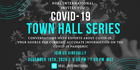 COVID-19 Town Hall Series tickets