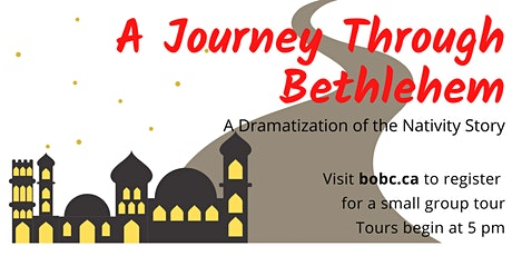 A Journey Through Bethlehem Christmas Drama tickets