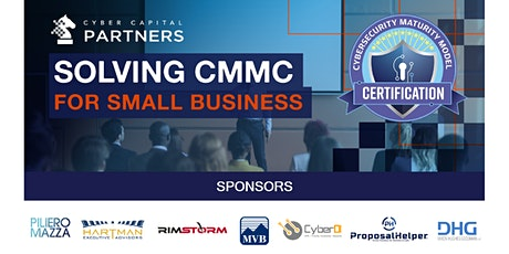 Solving CMMC for Small Business tickets