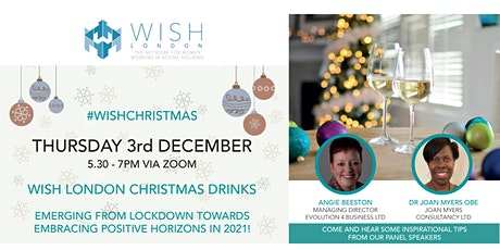 WISH London Christmas Drinks Event tickets