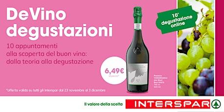 DeVino - Degustazione on line - lezione 10 biglietti