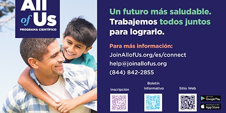 Sesión informativa: El futuro de la salud comienza con usted. entradas