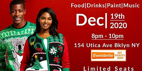 CSSBK Presents: Ugly Sweater Sip N Paint with DJ Casematic (all inclusive) tickets