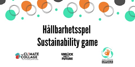 Sustainability game with Zero Waste Uppsala tickets