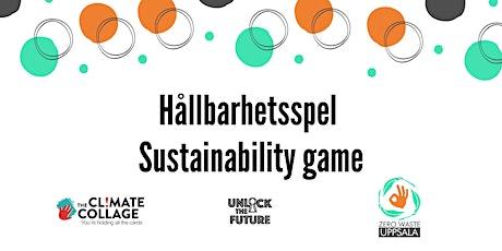 Sustainability game with Zero Waste Uppsala biljetter