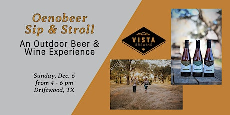 Oenobeer Sip & Stroll: An Outdoor Beer,  Wine and Food Pairing Experience tickets