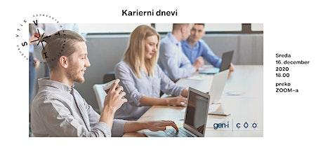 VTIS  Karierni dan 2020:  GEN -I se predstavi tickets