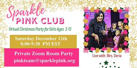 Sparkle Pink Christmas Party for Girls tickets