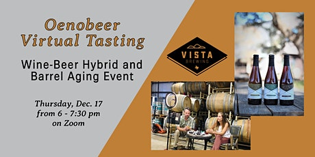 Oenobeer Virtual Tasting: Guided Wine-Beer Hybrid & Barrel Aging Class tickets