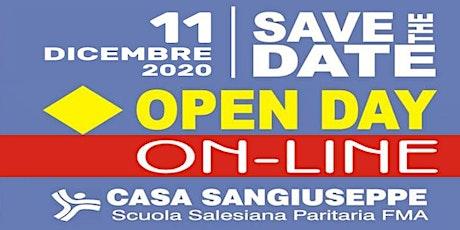 OPEN DAY ON-LINE - CASA SAN GIUSEPPE - Scuola Secondaria 1° biglietti