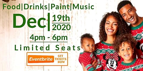 CSSBK:  KIDS Ugly Sweater  Sip n Paint with DJ Casematic (all inclusive) tickets