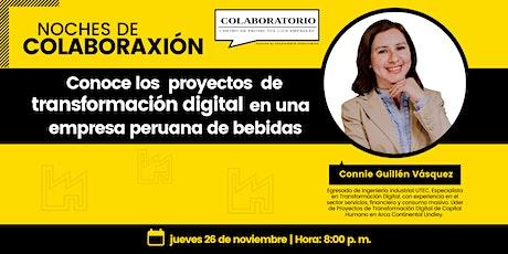 NOCHES DE COLABORAXIÓN - Conoce los proyectos de transformación digital en ingressos