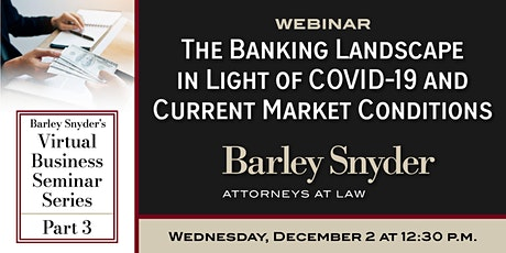 The Banking Landscape in Light of COVID-19 & Current Market Conditions tickets