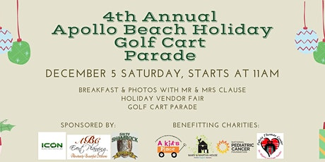 4th Annual Apollo Beach Holiday Golf Cart Parade tickets
