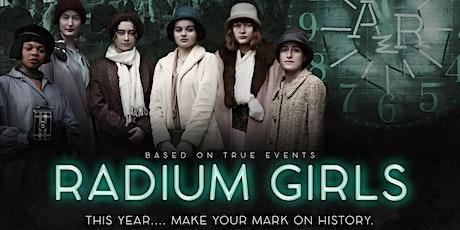 Radium Girls Movie Panel: Women Speaking Truth to Power. tickets