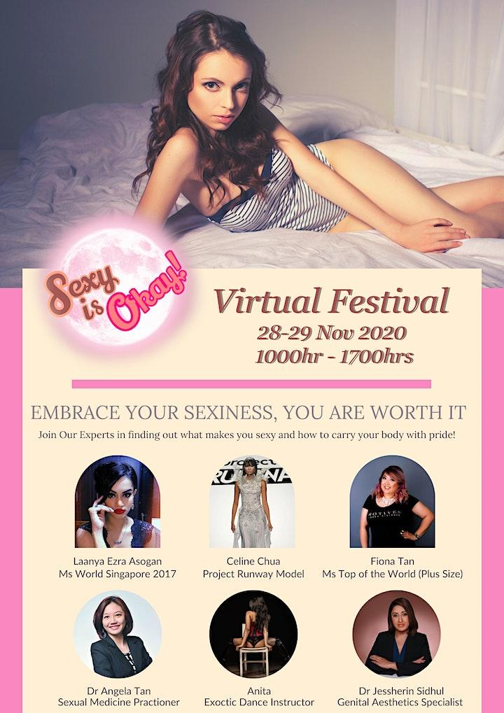 Sexy is Okay Virtual  Fest image