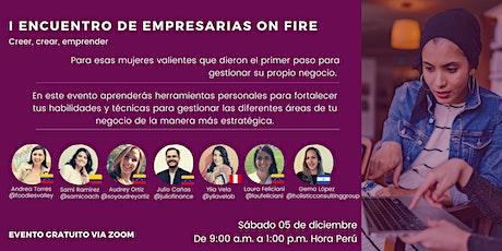 I Encuentro  Empresarias On Fire boletos