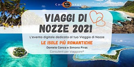 Viaggi di Nozze: le isole più romantiche! biglietti