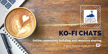 Giants Network Online Community Café: Ko-Fi Chats tickets