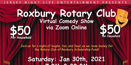 Rotary Club of Roxbury Zoom Comedy Night tickets