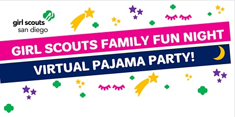 Girl Scouts Virtual Pajama Party! tickets