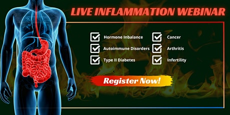 A Breakthrough Approach To Inflammation - Live Webinar! tickets