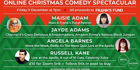Frank's Fund Christmas Comedy Fundraiser tickets