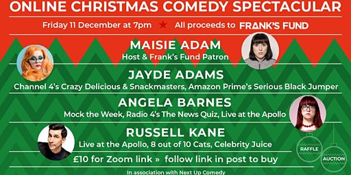 Frank's Fund Christmas Comedy Fundraiser
